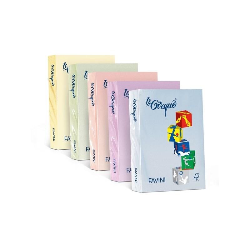 Carta Lecirque A4 80Gr 500Fg Celeste Pastello 101 Favini