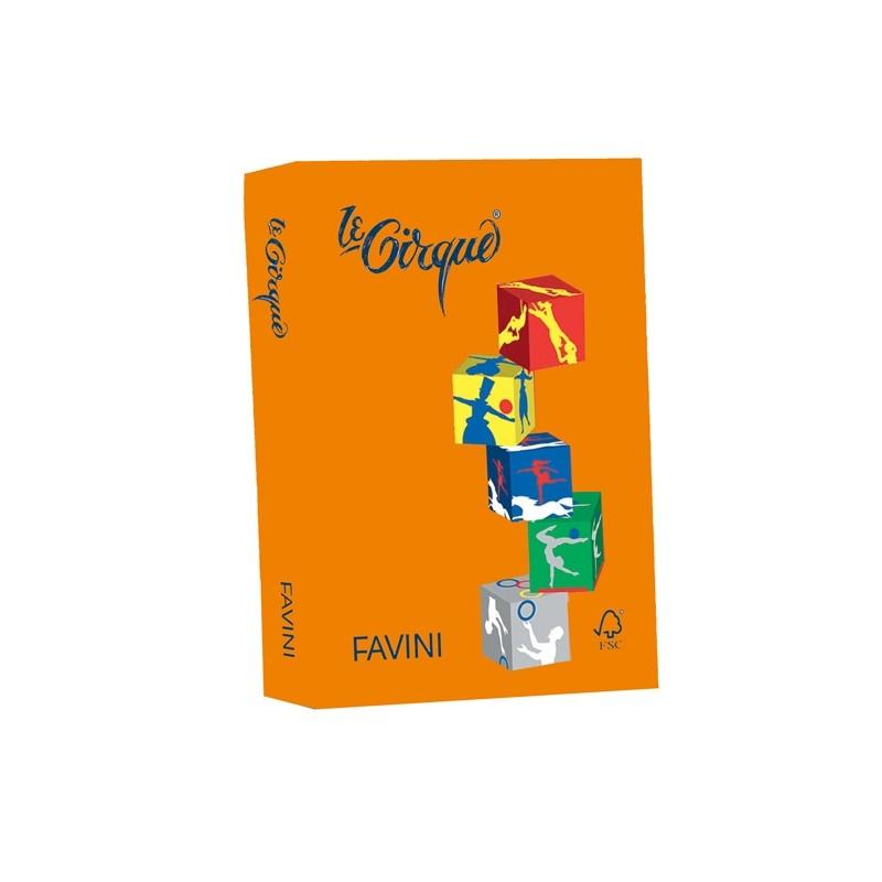 Carta Lecirque A4 80Gr 500Fg Arancio 205 Favini