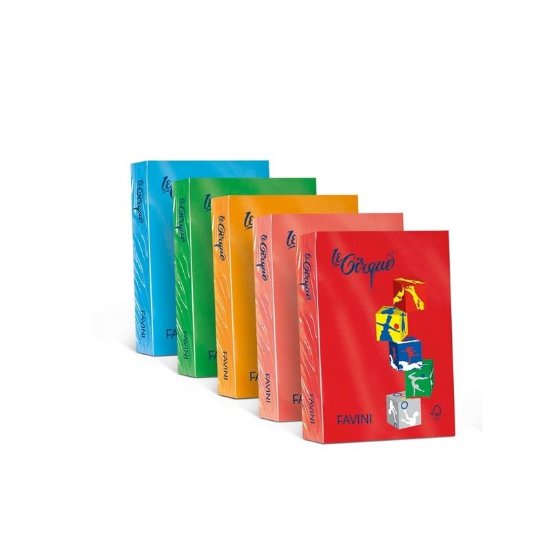 Carta Lecirque A4 80Gr 500Fg Verde Bandiera 208 Favini