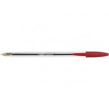 Scatola 50 Penna Sfera Cristal Medio 1,0Mm Rosso Bic