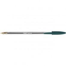 Scatola 50 Penna Sfera Cristal Medio 1,0Mm Verde Bic