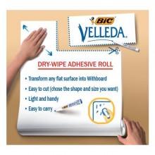 Lavagna Bianca Velleda Roll 67X100Cm In Foglio Adesivo Cancellabile