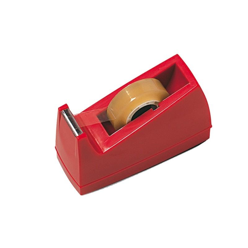 Dispenser Per Nastro Adesivo 33Mt Rosso Art.72