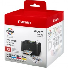 Conf. Multipack Contiene N. Ink. 1 Pgi-1500Xl Bk-C-M-Y
