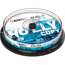 Dvd+R Emtec4,7Gb 16X Spindle (Kit 10Pz)