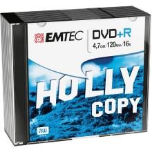 Dvd+R Emtec4,7Gb 16X Slim Case (Kit 10Pz)