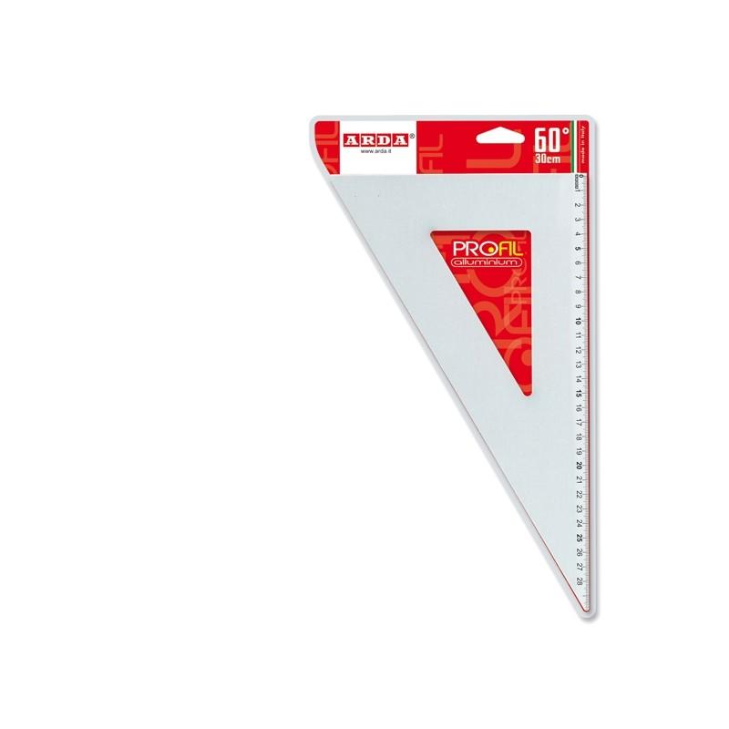 Squadra Profil Alluminio 60° 30Cm Arda