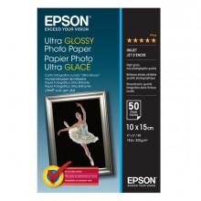 "Carta Fotografica Lucida Ultra Formato 50Fg 10X15Cm (4X6"") 300Gr Epson"