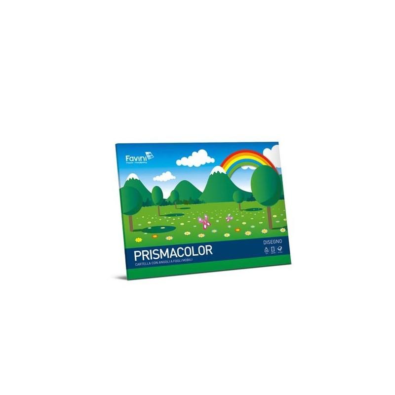Album PRISMACOLOR 10fg 128gr 24x33cm monoruvido FAVINI (conf. 20 )