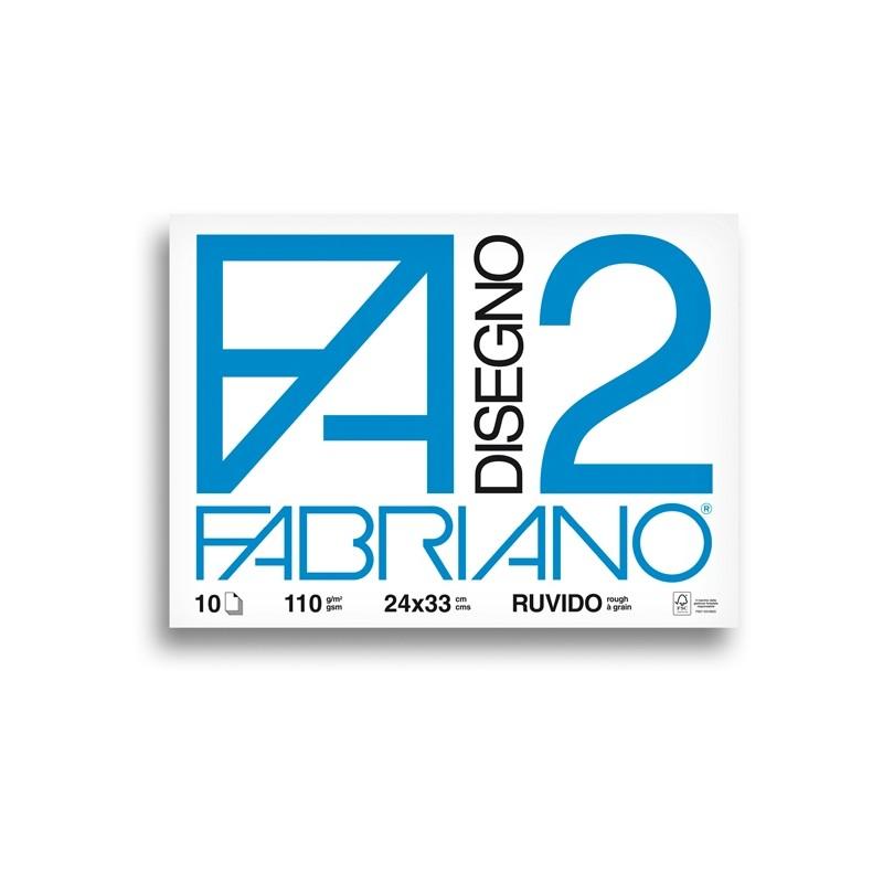 ALBUM P.M. FABRIANO2 (24X33CM) 10FG 110GR RUVIDO (conf. 10 )