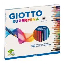 Astuccio 24 Pastelli Supermina Giotto