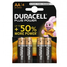 Blister 4 Pile Duracell Plus (Mn1500) Aa - Stilo