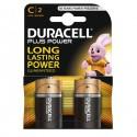 Blister 2 Pile Duracell Plus (Mn1400) C - Mezza Torcia