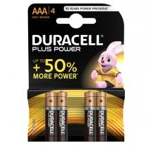 Blister 4 Pile Duracell Plus (Mn2400) Aaa - Ministilo