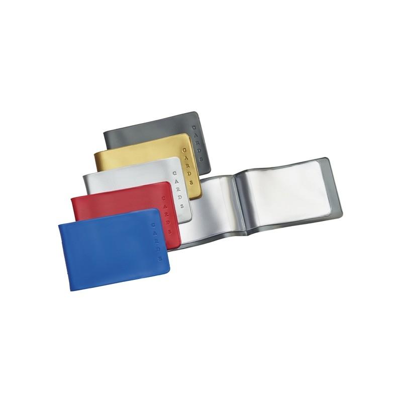 BUSTA PORTA CARDS 8,5X5,4 02/7440 PVC COL.ASSORTITI FAVORIT PVC (conf. 25 )