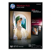 Risma 20 Fg Carta Fotografica Hp Premium Plus Photo Paper Lucida A4 300Gr