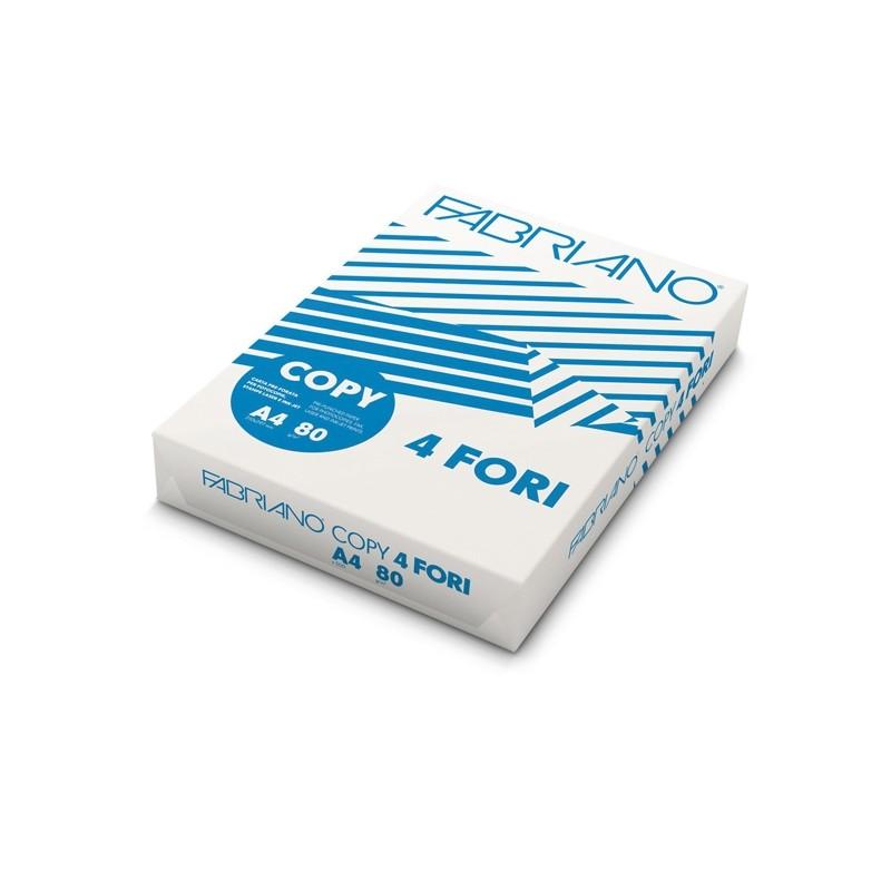 CARTA COPY4 A4 80GR 500FG 4FORI FABRIANO (conf. 5 )