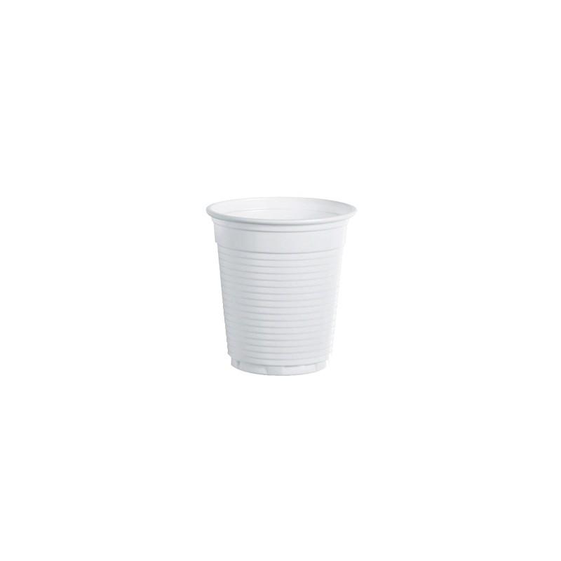 100 Bicchieri 80Cc Bianco Monouso Da Caffe' Dopla