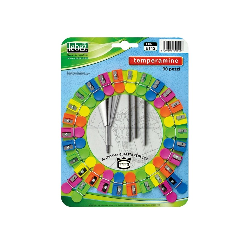 Cartella 30 Temperamine E112 Lebez