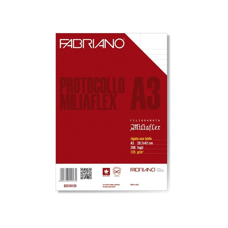 Protocollo A4 Uso Bollo 200Fg 125Gr Fabriano