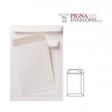 100 Buste A Sacco Bianche 230X330Mm 80Gr Adesiva Competitor Pigna