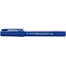 Scatola 12 Marcatori Tratto Permanent Ink Blu