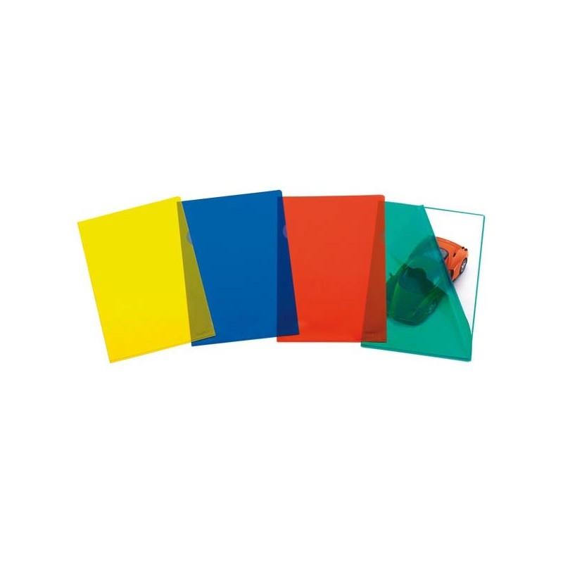 50 Cartelline A L 22X30 Pratic 78C/15 Blu Ppl 01/0040 Favorit