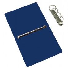 Raccoglitore Presspan 25x33cm 4anelli 25mm blu CDG (conf. 5 )