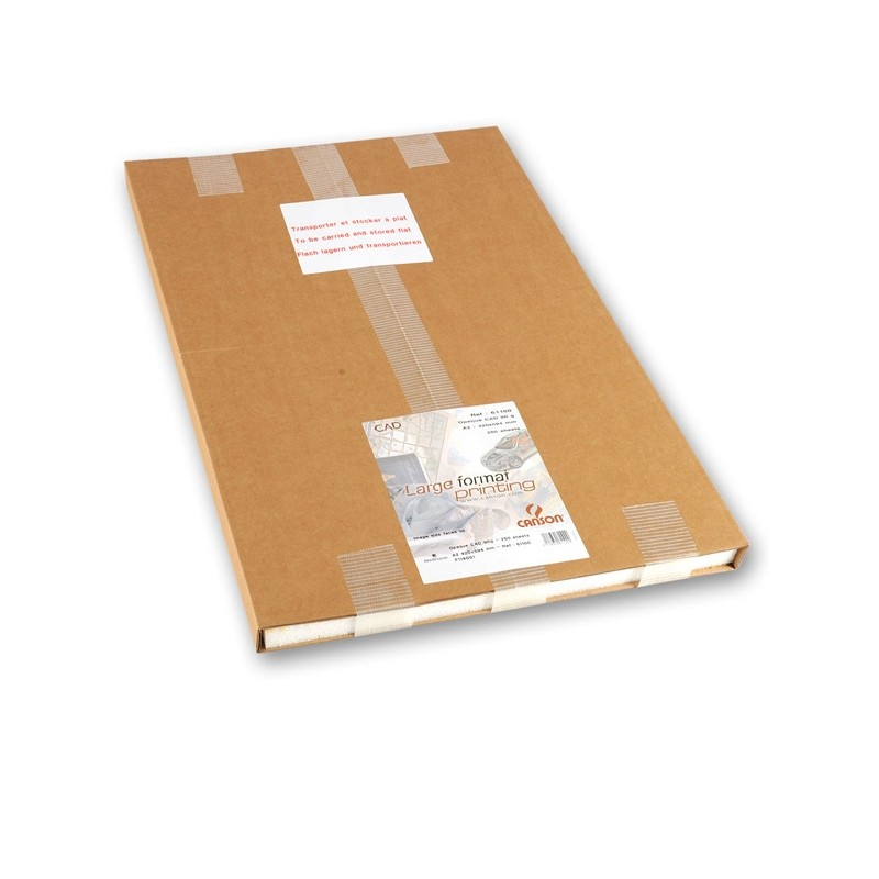Carta Inkjet Plotter 42X59,4Cm (A2) 90Gr 250Fg Opaca Cad Canson