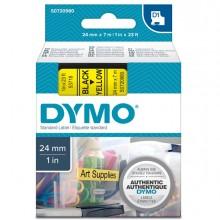 Nastro Dymo Tipo D1 (24Mmx7Mt) Nero/Giallo 537180