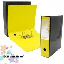 Registratore Kingbox F.To Protocollo Dorso 8Cm Giallo Starline