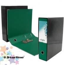 Registratore Kingbox F.To Protocollo Dorso 8Cm Verde Starline
