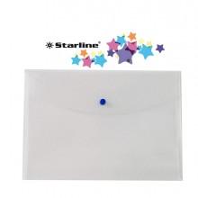 Busta Con Bottone 22X30Cm Trasparente Starline (conf.5)