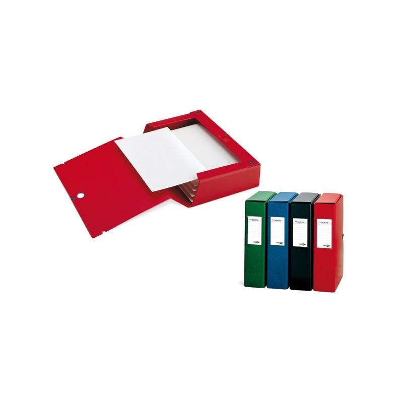 Scatola Archivio Scatto 80 25X35Cm Rosso Sei Rota