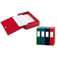 Scatola Archivio Scatto 120 25X35Cm Rosso Sei Rota