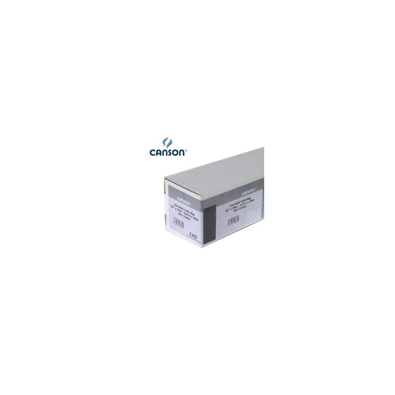 "Carta Inkjet Plotter 610Mm(24"") X 50Mt 90Gr Hicolor Opaca Canson"