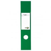 Busta 10 Copridorso Cdr Pvc Adesivi Verde 7X34,5Cm Sei Rota