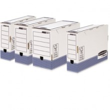 Scatola Archivio Legale Dorso 100Mm Bankers Box System (conf.10)