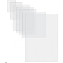 Scatola 100 Pouches 2X125Mic 64X108Mm Lugagge Card C/Asola Lato Corto Gbc