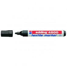 Marcatore Edding 4500 Nero Pt 2-3Mm Per Tessuto