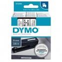 Nastro Dymo Tipo D1 (9Mmx7M) Nero/Bianco 409130