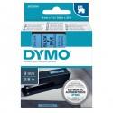 Nastro Dymo Tipo D1 (9Mmx7M) Nero/Blu 409160