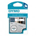 Nastro Dymo Tipo D1 (12Mmx7M) Nero/Bianco 450130