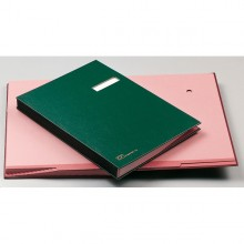 Libro Firma 14 Pagine Verde 24X34Cm 614-E Fraschini