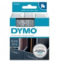 Nastro Dymo Tipo D1 (12Mmx7M) Bianco/Trasparente 450200