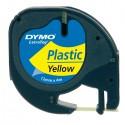 Nastro In Plastica Dymo Letratag 12Mmx4M Giallo 912020