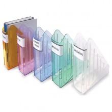 Portariviste Trasparent Color Cristallo Arda
