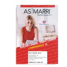 Poliestere Laser A4 Adesivo Trasparente Permanente 100Fg Marri