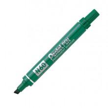 Marcatore Pentel Pen N60 Verde P.Scalpello