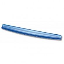 Poggiapolsi Da Tastiera In Gel Trasparente Blu